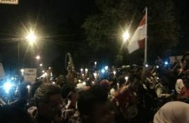 AHOK DIVONIS 2 TAHUN : Warga Biak Numfor Gelar Aksi 1.000 Lilin