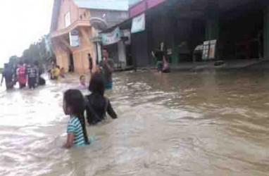 Sungai Mahakam Meluap, Banjir 90 Kampung di Kutai Barat Meluas