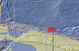 Gempa 5,0 SR Guncang Jayapura Papua
