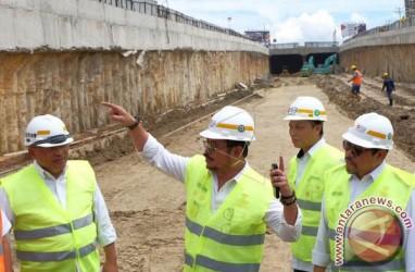 JALAN BAWAH TANAH : Simpang Lima Mandai Fungsional Menjelang Lebaran
