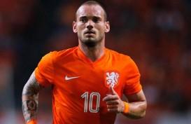 Ultah Ke-33, Sneijder Rekor Caps Terbanyak Timnas Belanda