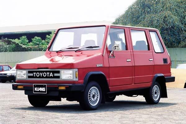 Toyota Kijang Generasi II.  - wikipedia