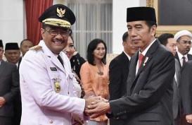 Jokowi Lantik Djarot Saiful Hidayat Jadi Gubernur DKI Jakarta