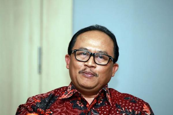 Presiden Direktur PT Waskita Beton Precast Tbk. Jarot Subana. - Bisnis/Abdullah Azzam