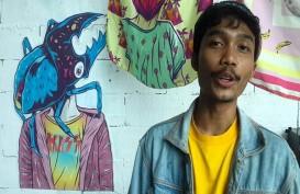 Pameran Tunggal Seniman Muklay Tuangkan Imajinasi Anak dalam Kanvas