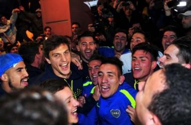 Boca Juniors Juara Argentina 32 Kali