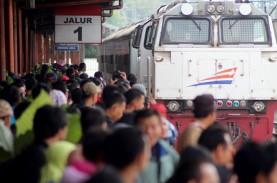 MUDIK LEBARAN 2017: Padat, Stasiun KA Senen Terapkan…