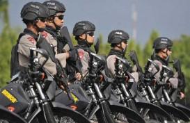 PENGAMANAN MALAM TAKBIR: Polres Jakarta Pusat Kerahkan 1.900 Personel