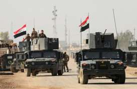 Gelombang Serangan Bom Bunuh Diri ISIS Dimentahkan Tentara Irak