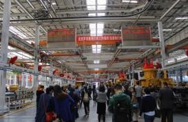 Data Manufaktur China Lampaui Estimasi