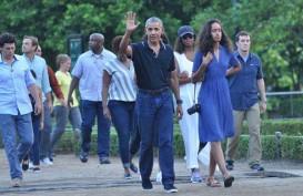Disopirin Jokowi, Obama Naik Bogey menuju Grand Garden Kafe