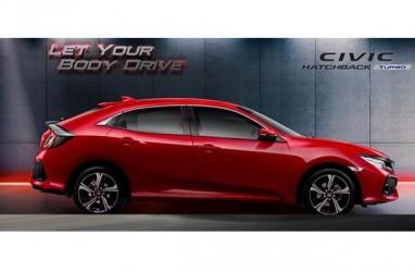 PENJUALAN MOBIL : Civic Hatchback Lebih Diminati