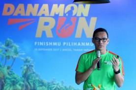 Danamon Run 2017: Pelari Tentukan Jarak Finis