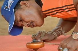 Indonesia Bawa 600 Gasing dari 34 Provinsi ke London