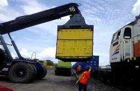 MINAT PENGGUNAAN KA BARANG : Tarif Kereta Logistik di Gede Bage Didiskon