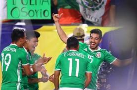 Hasil Gold Cup: Meksiko Ladeni Jamaika di Semifinal