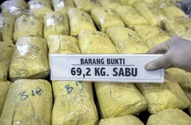 Polisi Kembali Sita 41 Kilogram Sabu dari China