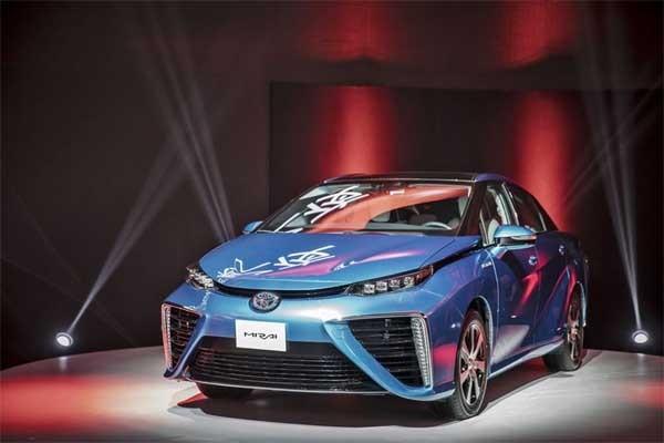 Toyota Mirai - Bloomberg