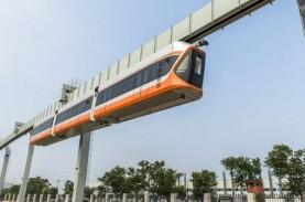 China Sukses Uji Coba Monorel Gantung