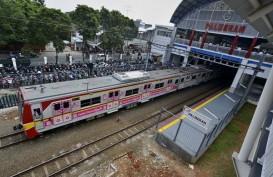 BPTJ Tertibkan Kendaraan Umum di Sekitar Stasiun KA