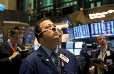 Ditopang Sektor Finansial, Dow Jones Nyaris Sentuh Level 22.000