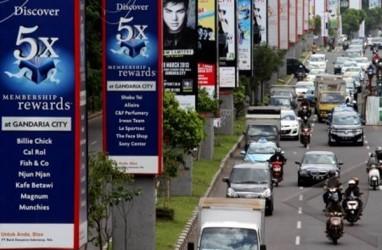Penerimaan Pajak Reklame di DKI Terkoreksi