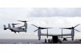 Pesawat Marinir AS Jatuh di Australia. Pencarian Korban Ditangguhkan