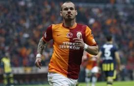 Dilepas Galatasaray, Wesley Sneijder Kini Milik Nice