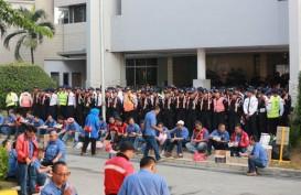 Mogok JICT Hari ke-5 : Memanas, Direksi Blokade Pintu Masuk JICT