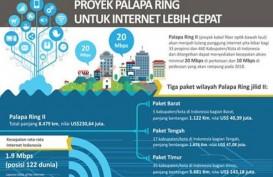 Proyek Palapa Ring, Wilayah Natuna Mulai Komersial Akhir 2017