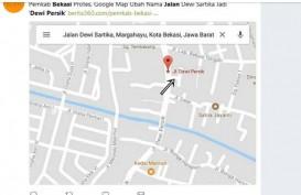 Jalan Dewi Persik Nongol di Google Maps, Warga Bekasi Heboh
