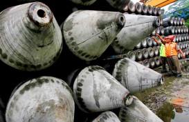 PABRIK TIANG PANCANG : WTON Naikkan Kapasitas Produksi di Lampung