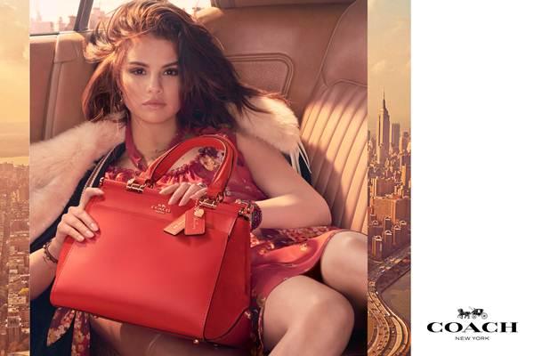 Selena Gomez x Coach - Istimewa