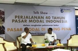 BUKU PASAR MODAL DI UJUNG PENA: Kisah 40 Tahun Perjalanan Pasar Modal Indonesia Terekam Dalam Buku Ini