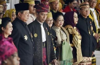 HARI KEMERDEKAAN: Istana Merdeka Pertemukan Tiga Mantan Presiden RI