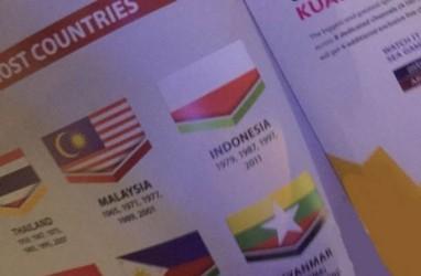 BENDERA INDONESIA TERBALIK: Malaysia Sudah Minta Maaf. Tagar #ShameonYouMalaysia Rekam Kemarahan