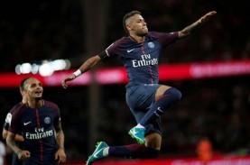Hasil Lengkap Liga Prancis: PSG Berpesta, Neymar Cetak…