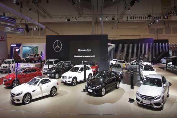 Booth Mercedes-Benz di GIIAS 2017 - ist