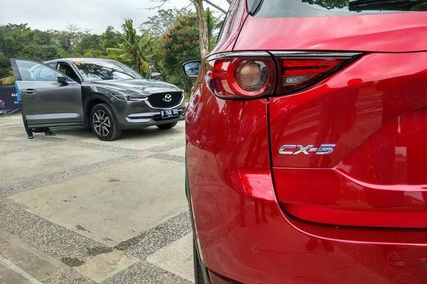 Mazda CX-5 - Bisnis.com/Muhammad Khadafi