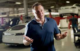 KENDARAAN LISTRIK, Tesla Disinyalir Rilis Truk Semi Trailer Bulan Depan