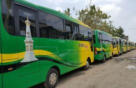 15 Unit Bus Hino Siap Beroperasi di Yogyakarta