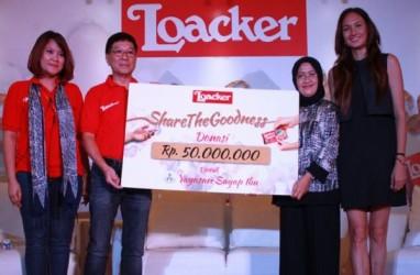 Loacker Raih Rekor MURI untuk Replika Menara Tertinggi Kemasan Wafer