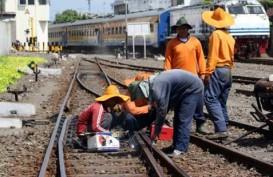 REAKTIVASI REL GANDA : Jalur Bogor--Sukabumi Aman