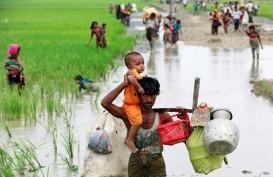 Ini Kesaksian Wartawan Soal Pembakaran Rumah Etnis Rohingya