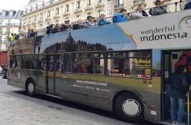 Bus Turis di Prancis Promosi Wonderful Indonesia