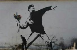 Seniman Bansky Buat Ulah di Pameran Seniman Jean-Michael Basquiat
