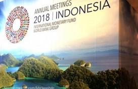 GUNUNG AGUNG AWAS : Panitia Annual Meeting IMF-WB Bahas Lokasi Cadangan