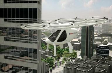 Pertama di Dunia, Taksi Terbang Tanpa Pilot di Dubai