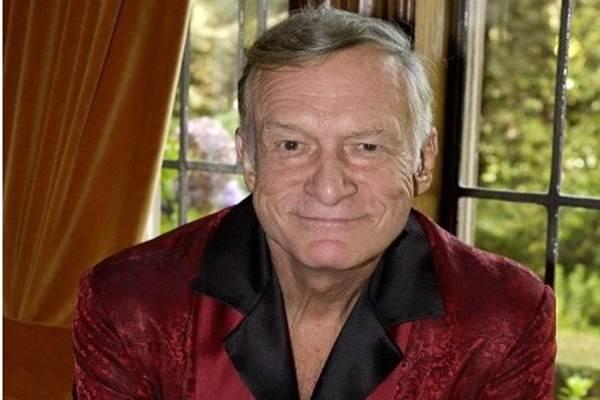 Pendiri majalah dewasa Playboy Hugh Hefner - people