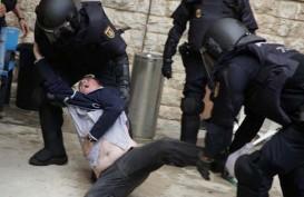Referendum Katalunya Rusuh, 91 Orang Terluka